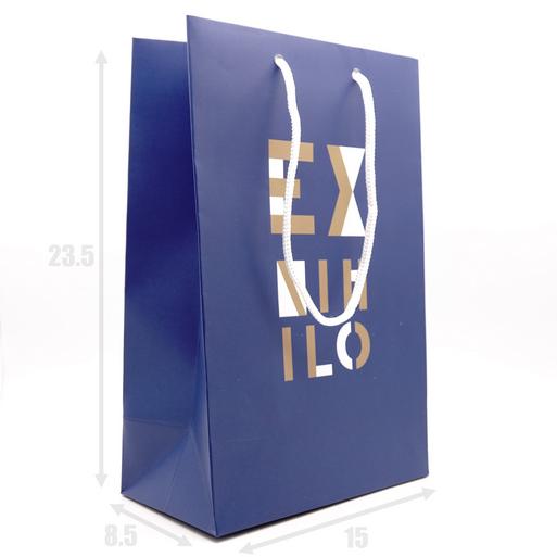 Подарочный пакет ?Ex Nihilo 23.5х8.5х15