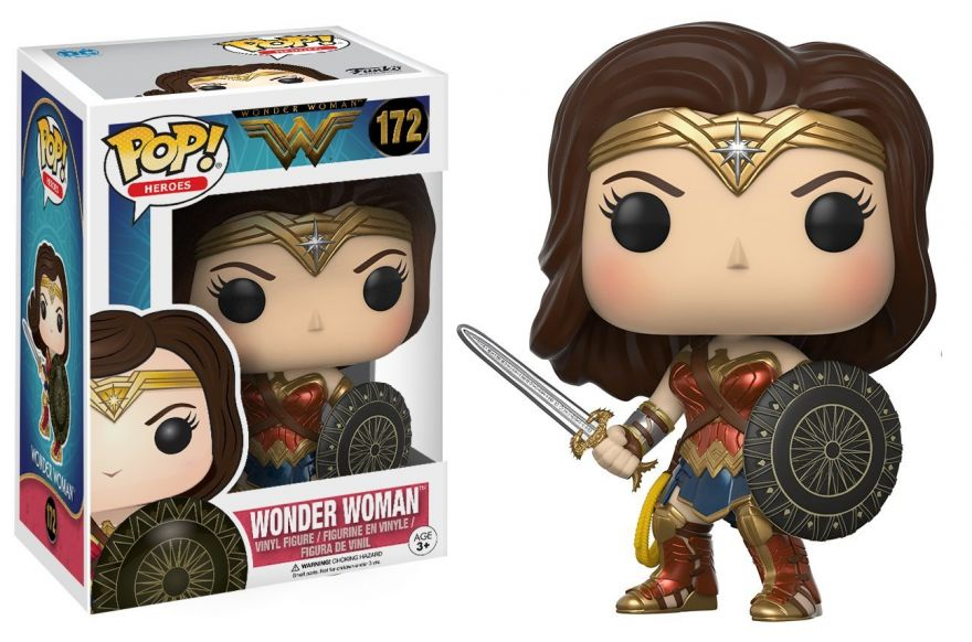 Фигурка Funko POP! Vinyl: DC: Wonder Woman: Wonder Woman 12545