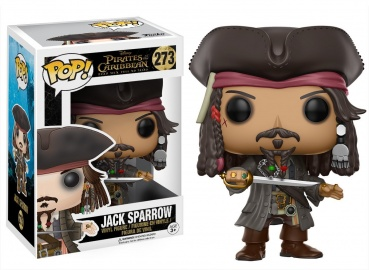Фигурка Funko POP! Vinyl: Disney: Pirates 5: Jack Sparrow 12803