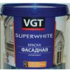 Краска Фасадная ВГТ 3кг ВДАК 1180 Super White Акриловая Супербелая