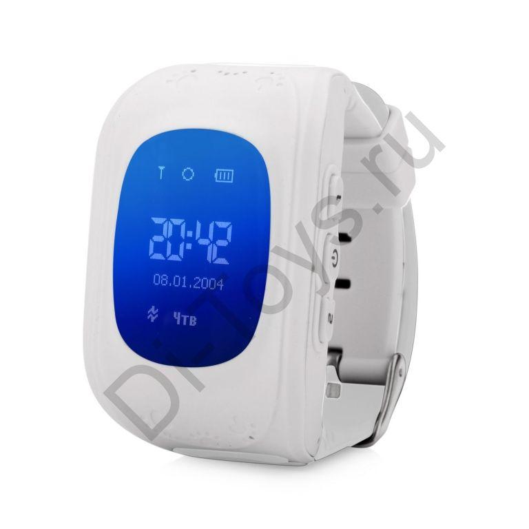 Детские часы smart baby watch q50 Белые