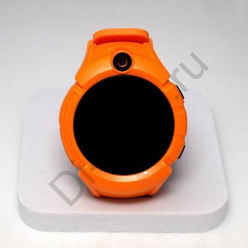 Умные детские часы Smart Baby Watch Q610 (оранжевые)