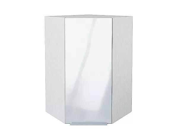 Шкаф верхний угловой Фьюжн ВУ599 (Angel)