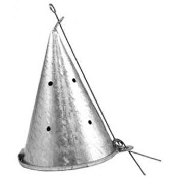 Кормушка зимняя Конус металл большая  (Н-14 см, Д-9 см)