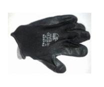 Перчатки утепленные/обрезиненные, черные