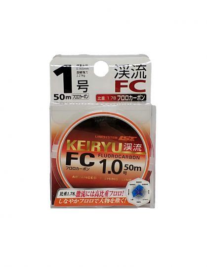 Леска Флюорокарбон LINESYSTEM KEIRYU FC 50m #0,6 (0,128mm) (1,64кг)