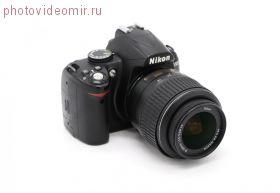 Арендовать фотоаппарат Nikon D3000 kit 18-55 F3.5-5.6G VR