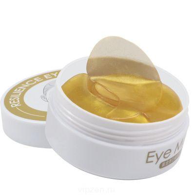 Yizhu золото леди глазная пленка для снятия мешков с глазами разбавить тонкие линии гусиные лапки укрепляющая коллагеновая глазная пленка