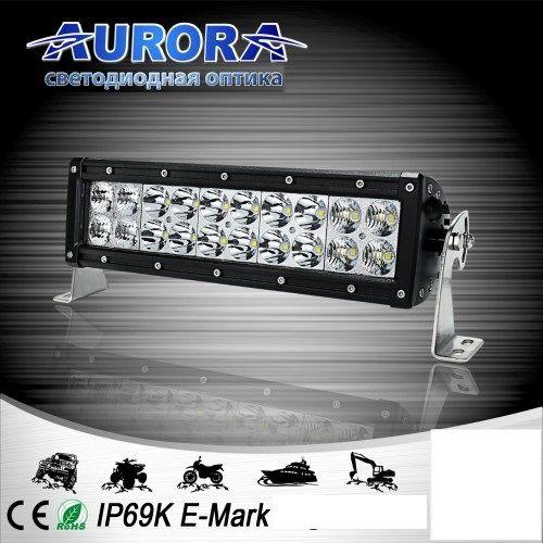 Двухрядная светодиодная балка комбинированного свечения 100W COMBO AURORA ALO-D1-10-P4E4D