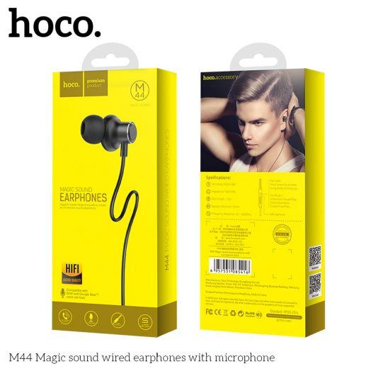 Наушники с гарнитурой HOCO M44 Magic sound, черный