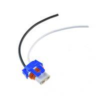 RK04124 * Разъем керамический под лампу 9006 (HB4),2 контакта, с проводами сечением 0,75 кв.мм, длина 120 мм
