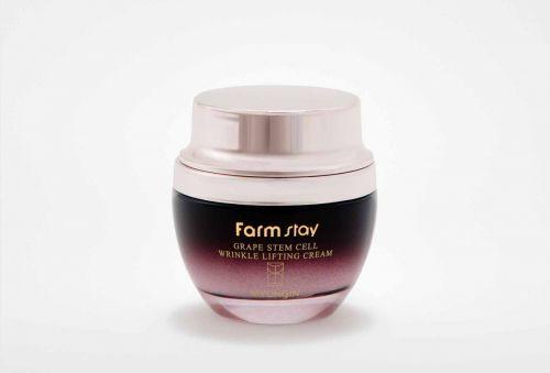 Омолаживающий лифтинг-крем со стволовыми клетками FarmStay Grape Stem Cell Wrinkle Lifting Cream