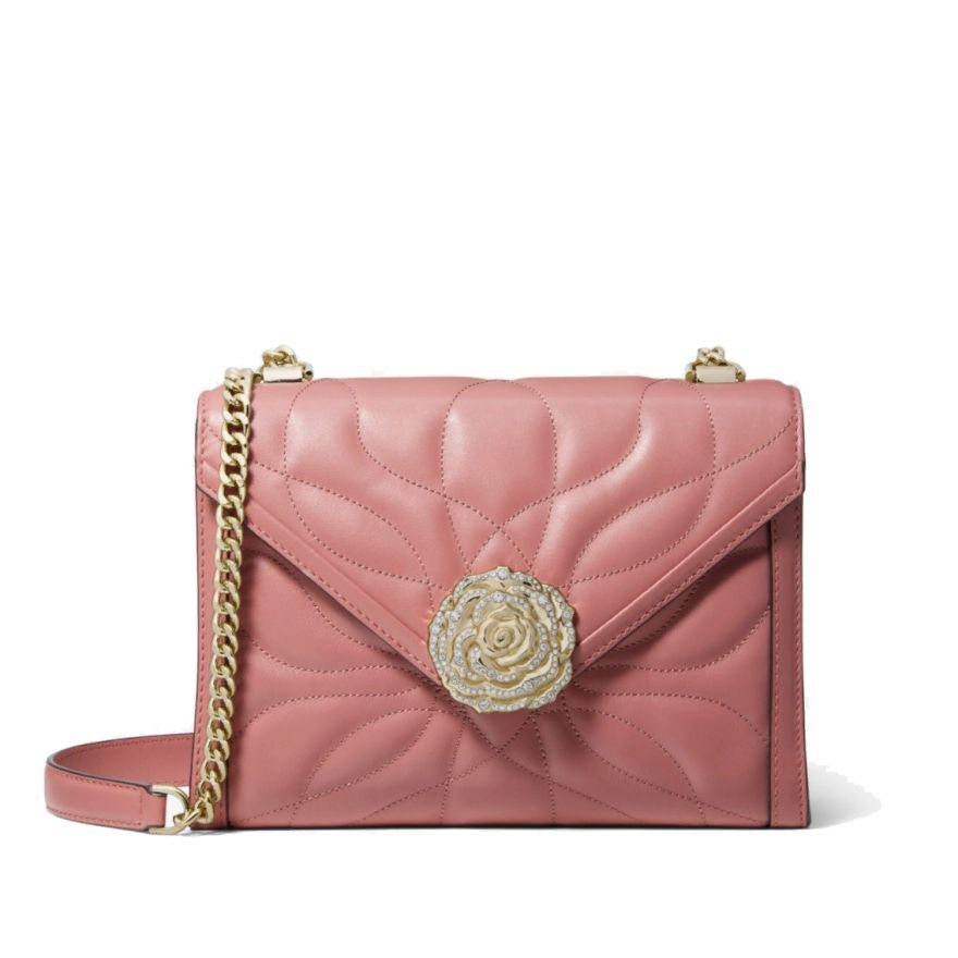 cb2cad4c381a Whitney Small Quilted Leather Convertible Shoulder Bag. Michael Kors ...