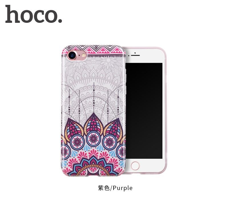 Защитный чехол HOCO Doren series для iPhone7/8, пурпурный