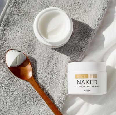 Очищающий бальзам-пилинг A'PIEU Naked Peeling Cleansing Balm 45гр