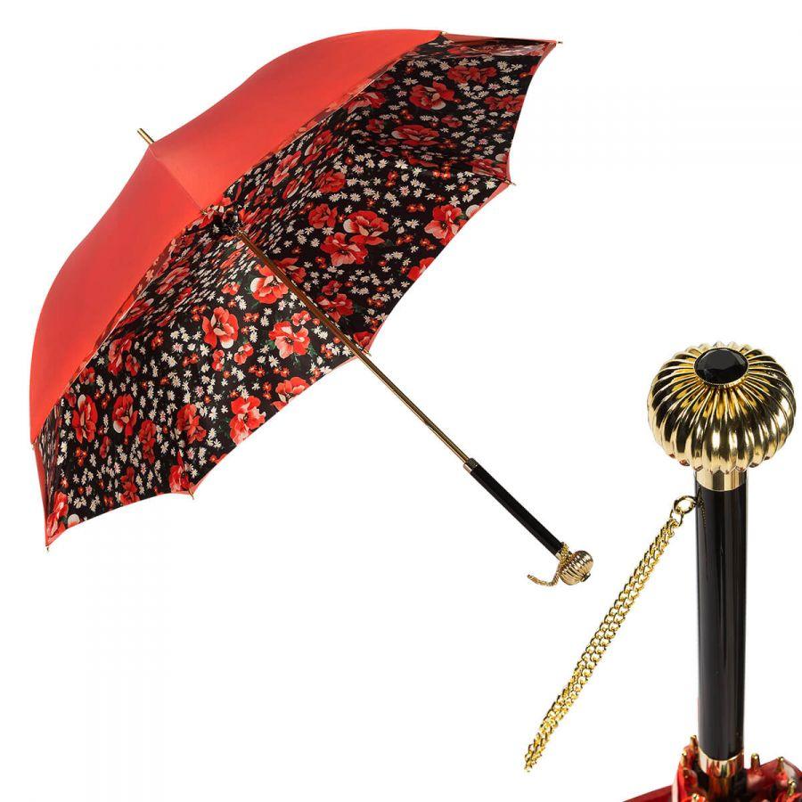 Зонт-трость Pasotti Coral Papavero Globe