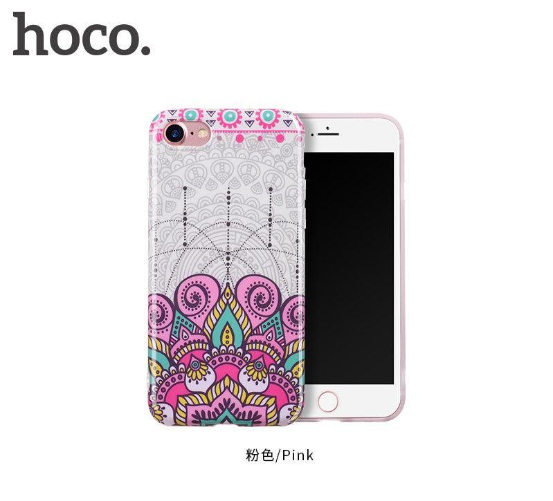 Защитный чехол HOCO Doren series для iPhone7/8, розовый