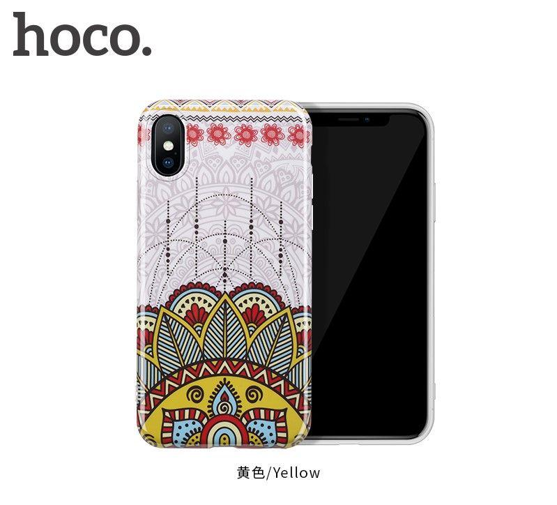 Защитный чехол HOCO Doren series для iPhoneX, желтый