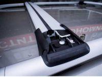 Багажник FicoPro R-53 серебристый на рейлинги, ВЫСТАВОЧНЫЙ ЭКЗЕМПЛЯР