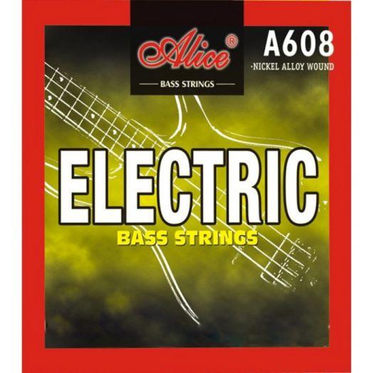 ALICE A608(5)-M (045-130) Cтруны для бас-гитары (5 стр.)