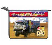 "Папка А5 молния метал. ""Rally Dakar Kamaz"" (арт. 805069) /60/"