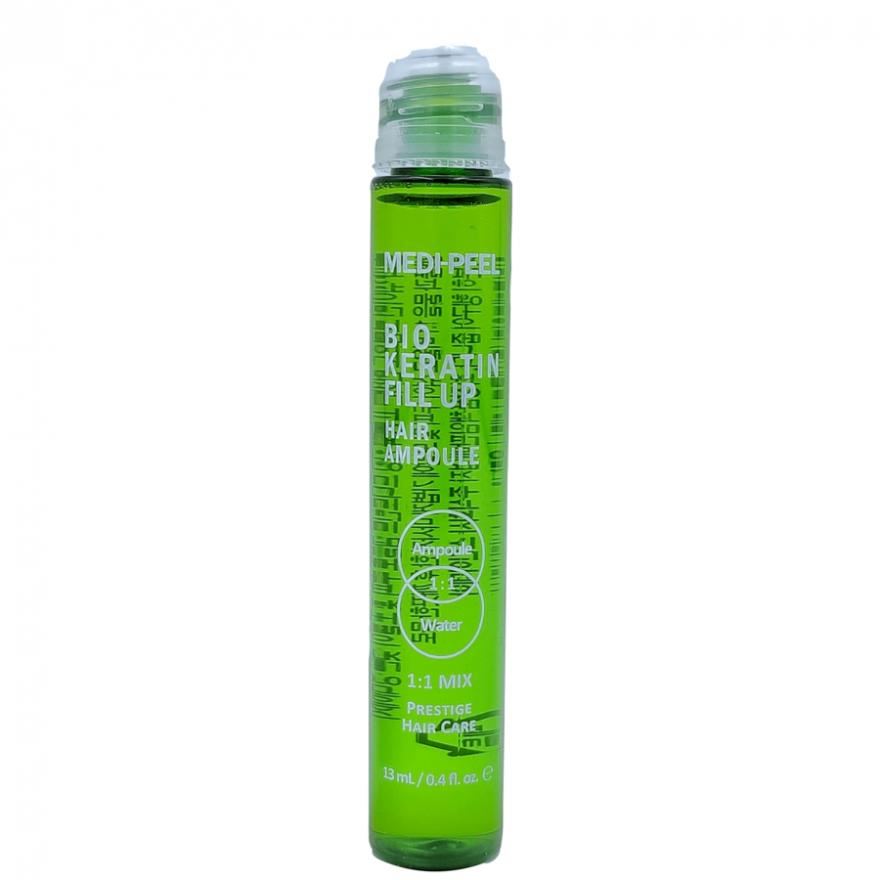 Укрепляющие филлеры для волос Bio Keratin Fill Up Hair Ampoule Medi-Peel