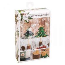 Ёлки на подставке «Сказочный лес», набор для шитья, 10,5 × 16 × 5 см