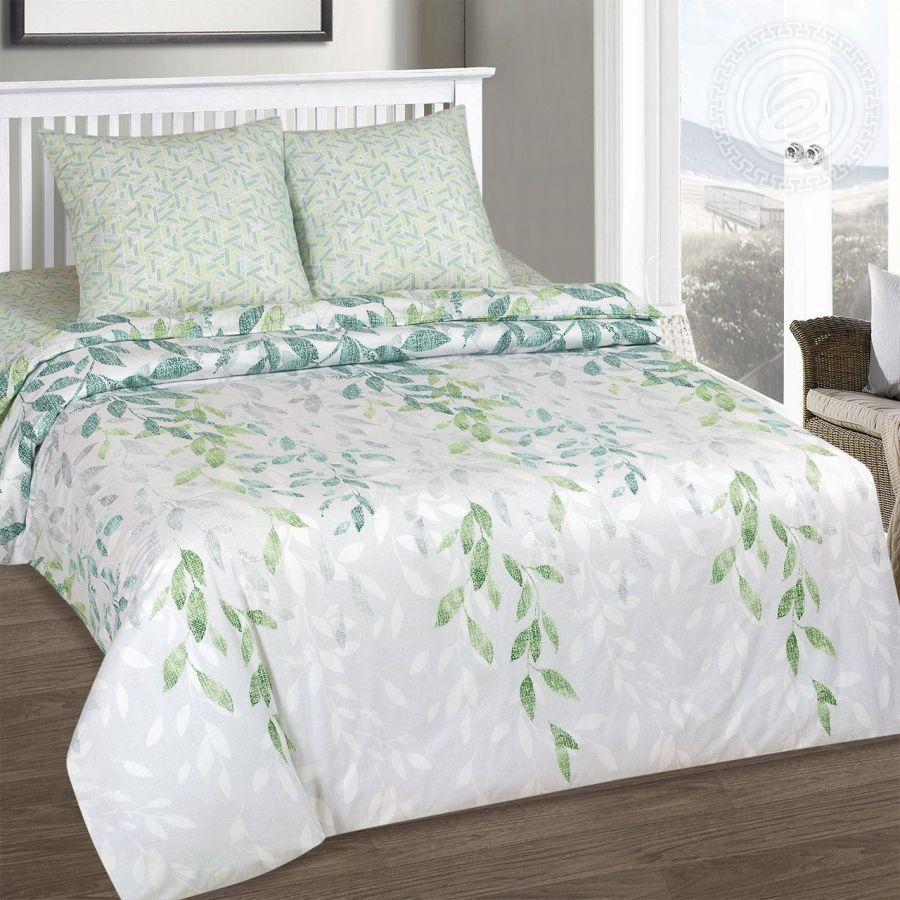 «Лиана» (DE LUXE) постельное белье Поплин 2-х спальный