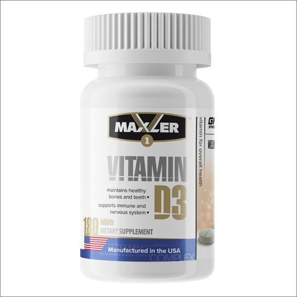 Maxler Vitamin D3 1200 МЕ, 180 таб.