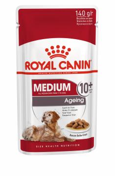 Роял канин Медиум Эйджинг 10+ для собак (Medium Ageing pouch) пауч 140г.