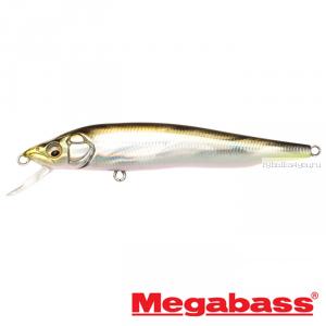 Воблер Megabass Vision 95Q-GO Slow Float 95мм / 9,8гр / Заглубление: 0,1 - 0,5 м / цвет: GG Tennessee Shad