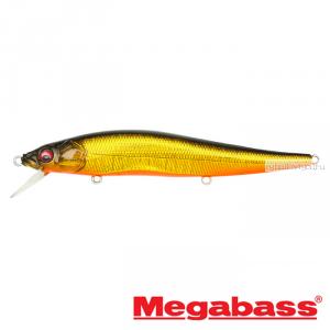 Воблер Megabass Vision Oneten Hi-Float 110мм / 14 гр / Заглубление: 1,2 - 1,8 м / цвет: GG Jabara Kinkuro HF