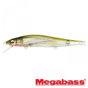 Воблер Megabass Vision Oneten Hi-Float 110мм / 14 гр / Заглубление: 1,2 - 1,8 м / цвет: Stealth Bait HF