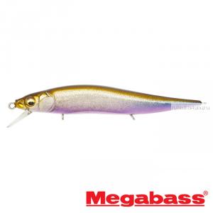 Воблер Megabass Vision Oneten Jr. 98мм / 10,5 гр / Заглубление: 0,5 - 1 м / цвет: GLX Skeleton Wakasagi