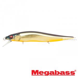 Воблер Megabass Vision Oneten Jr. 98мм / 10,5 гр / Заглубление: 0,5 - 1 м / цвет: M Champagne Kinkuro