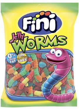 Жевательный мармелад Fini (черви в сахаре) 100г (без глютена)