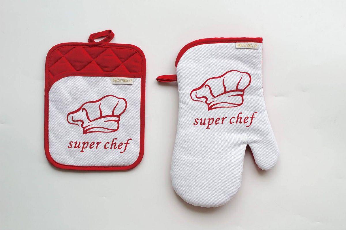 Набор для кухни Chef (красный)