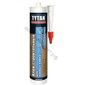 Клей строительный Tytan Professional №915 для ванных комнат белый 440г