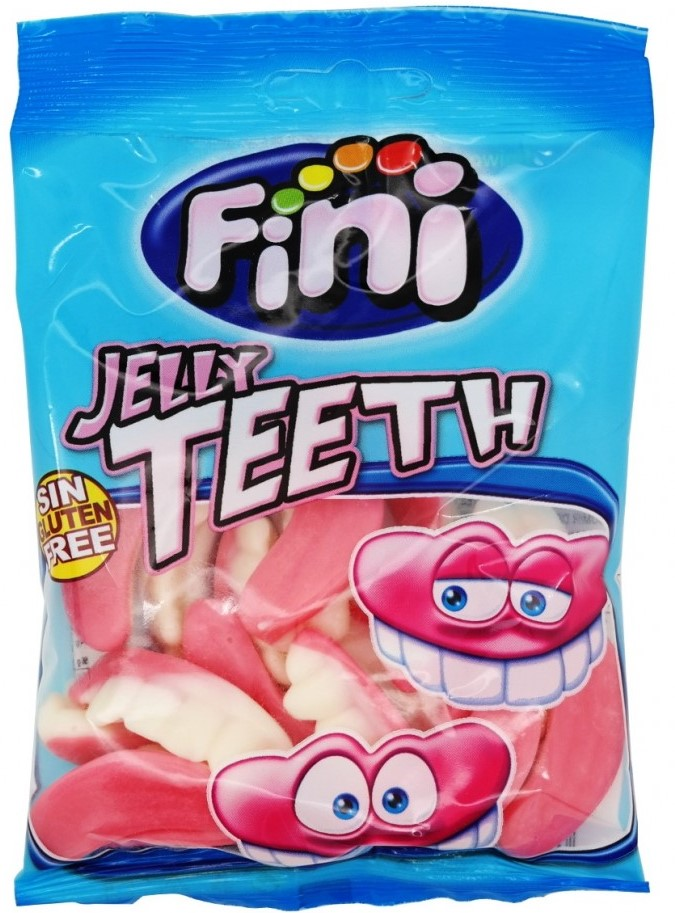 Жевательный мармелад Fini (зубы) 100г (без глютена)