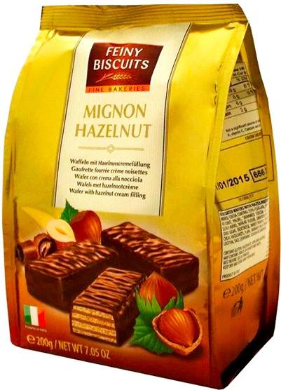 Вафли Feiny Biscuits (в шоколаде) 200г