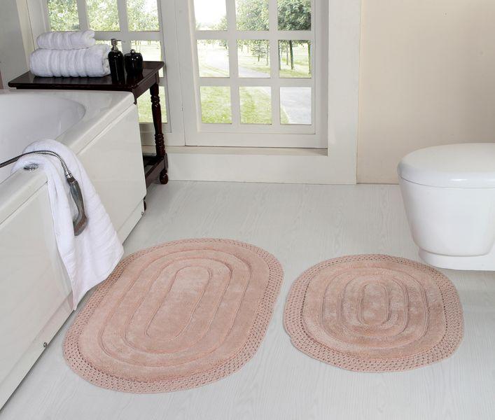Коврик для ванной Абелард (пудра) Макраме 50х70