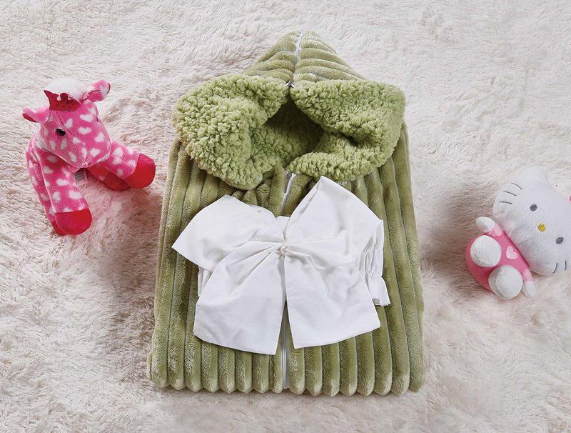 Одеяло-конверт Infanty (мави) 75х70