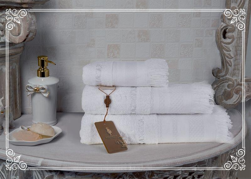 Полотенце Simona (белый) 70х140см