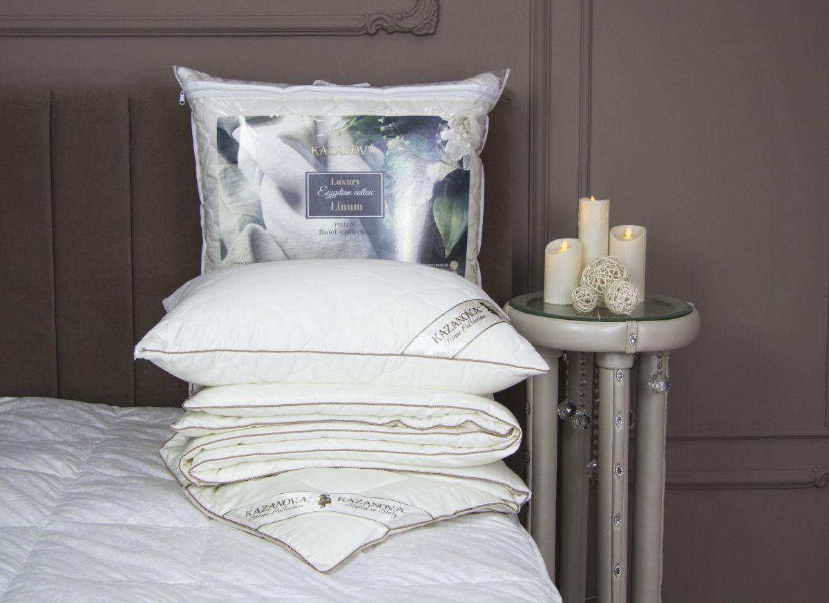 Од.2х Luxury Egyptian cotton Linum (белый) 200х220