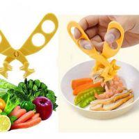 Многофункциональные ножницы для измельчения еды-3
