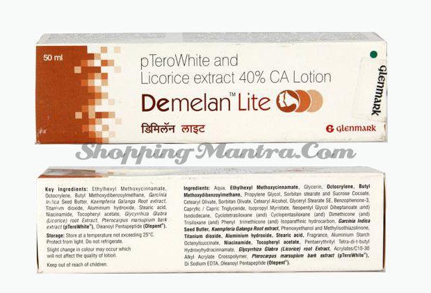 Демелан Лайт лосьон Glenmark Pharma Demelan Lite Lotion