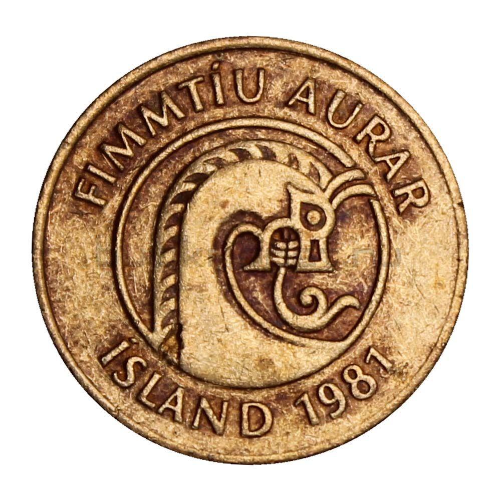 50 эйре 1981 Исландия
