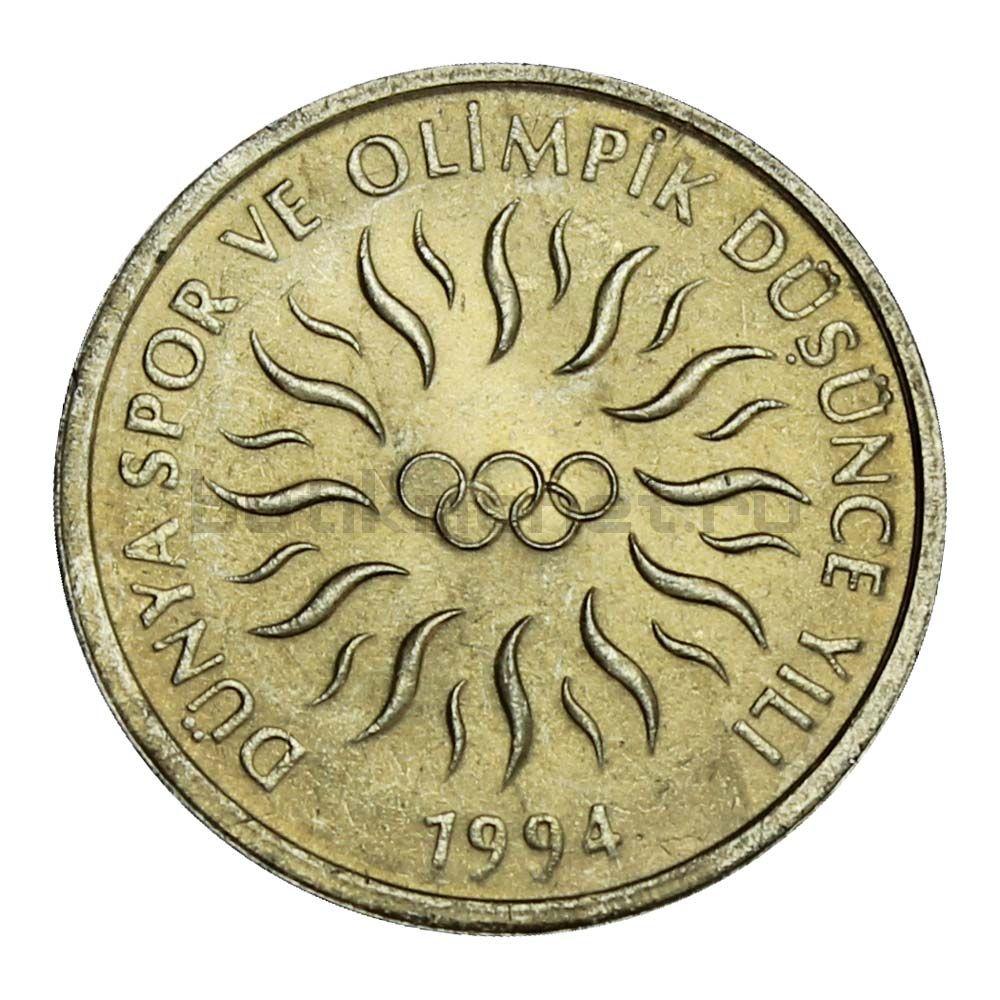 10000 лир 1994 Турция XVII зимние Олимпийские Игры, Лиллехаммер 1994