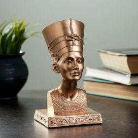 """Силиконовая форма """"Нефертити"""" бронза 17см"""