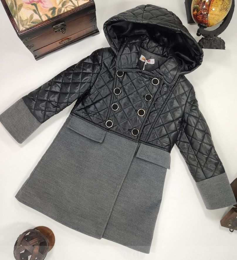 Модное Пальто для девочек